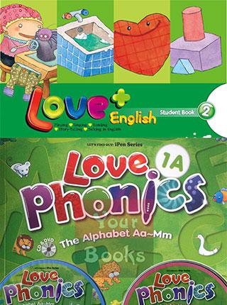love  english&phonics:爱 英语 大加分